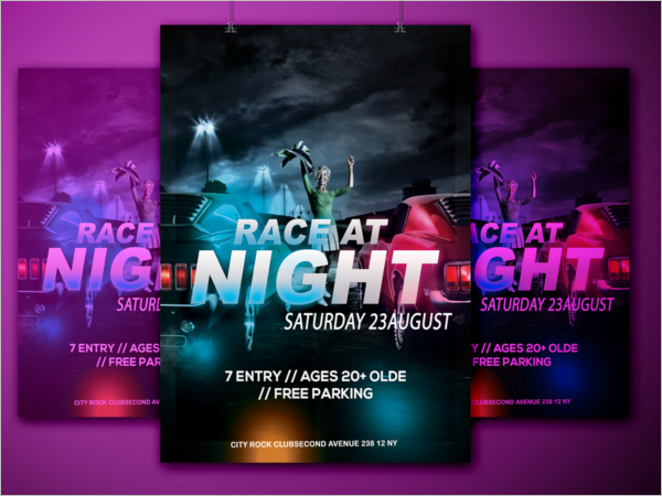 Racing Flyer Design Free Download