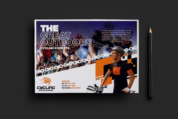 Racing Flyer PSD Design