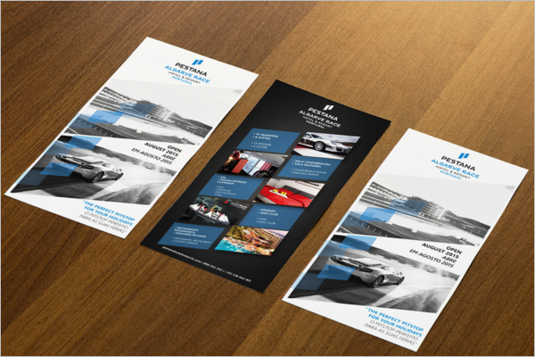 racing flyer template psd free download