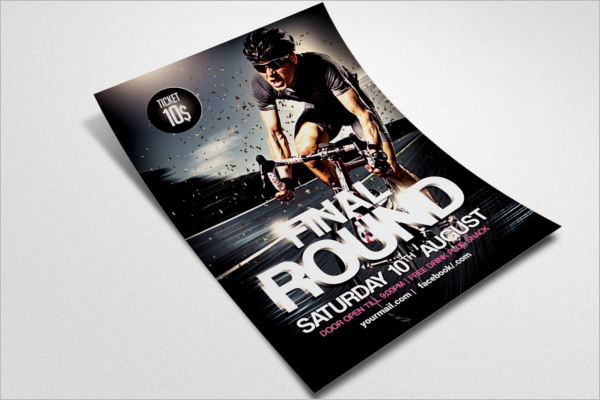 Racing Flyer Template Photoshop