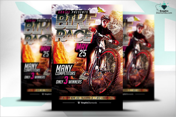 Racing Flyer Template