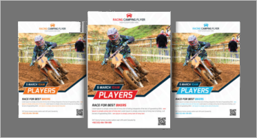 Racing Flyer Templates
