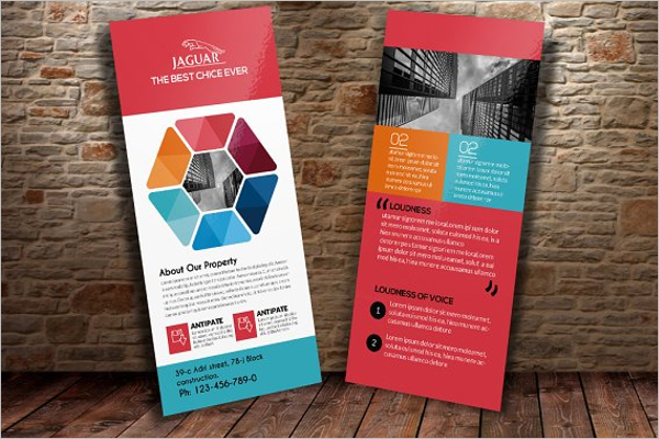 Rack Card Brochure Template