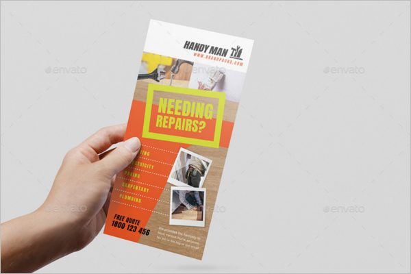 Rack Card Size Template