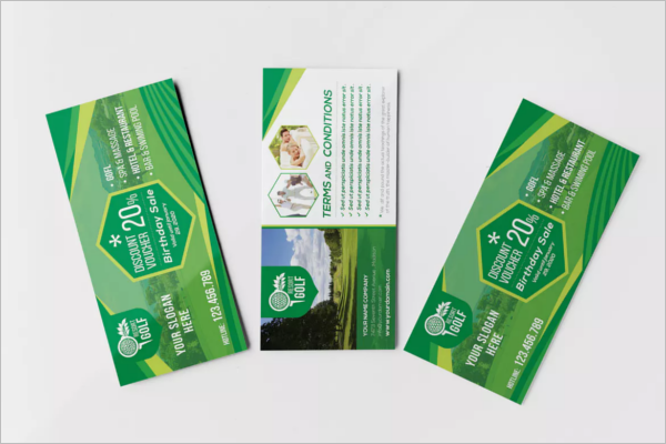 Rack Card & Voucher Template