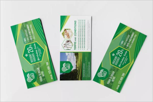 Rack Card & Voucher Template