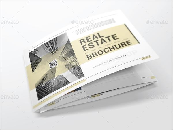 Real Estate A4 Brochure Mockup Design