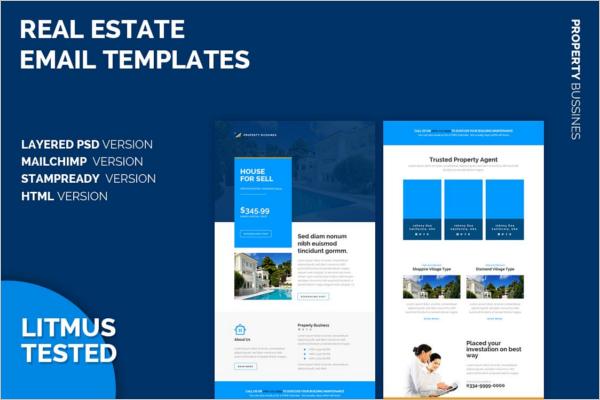 Real Estate Email Design
