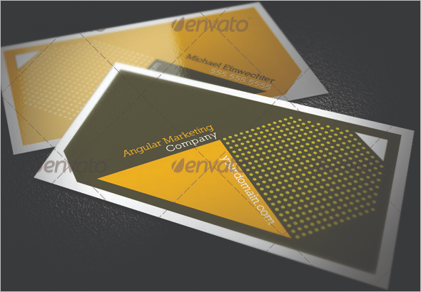 Real Estate Marketing Business Card Template