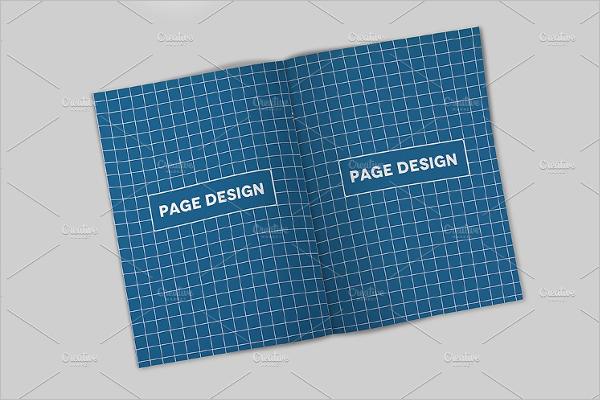 Realistic A4 Brochure Mockup Design