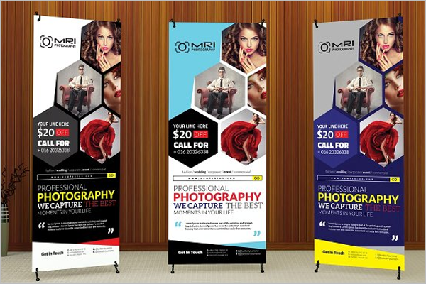 Realistic Banner Template
