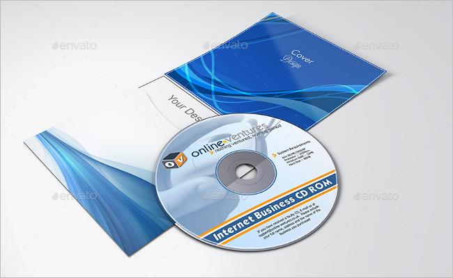 Realistic DVD Case Mockup Design
