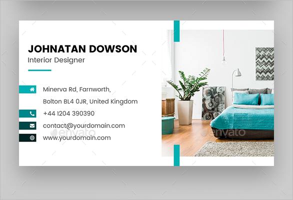 Realistic Furniture Business Card Design