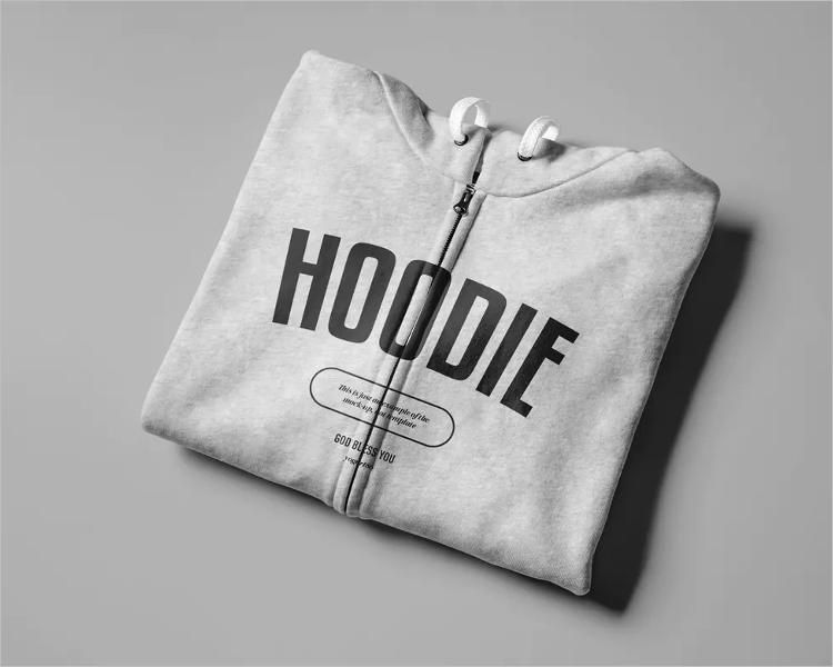 Realistic Hoodie Mockup