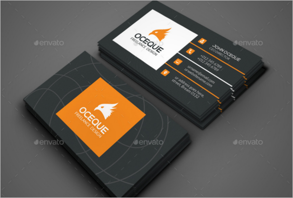 Realistic Marketing Business Card Template