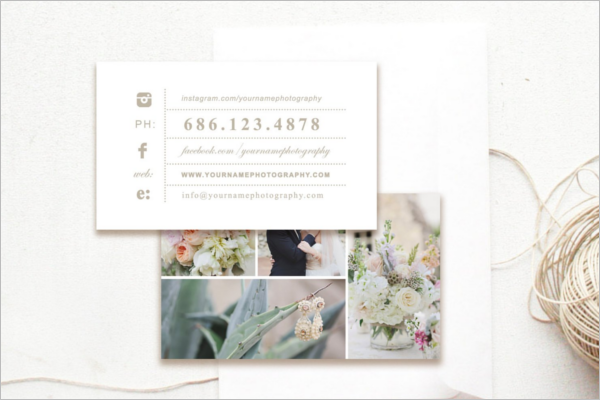 Realistic Photography Business Card Design