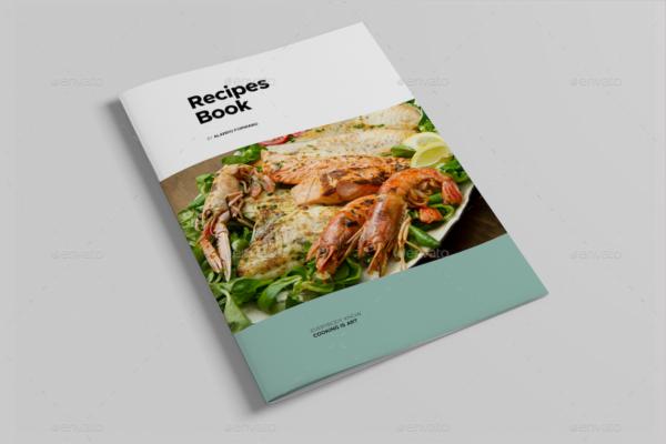 Recipe Book Design Template