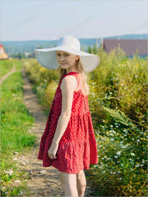 Red Dress Design Template