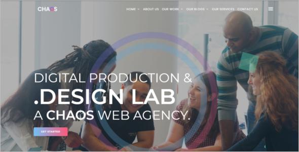 Responsive Blog Design Template
