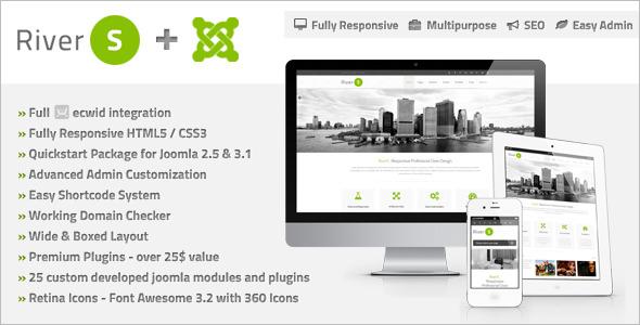 Responsive Joomla Design Template