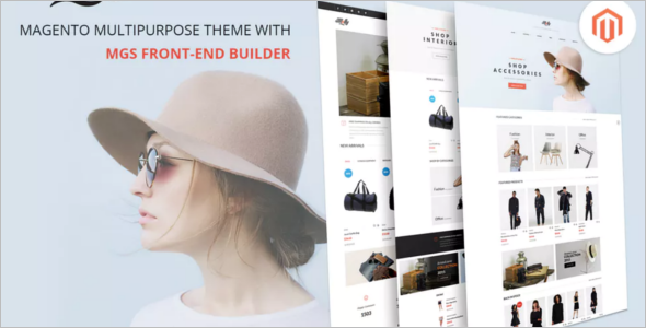 Responsive Magento Website Template