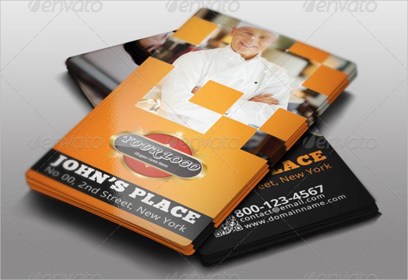Restaurant Business Card Bundle Template