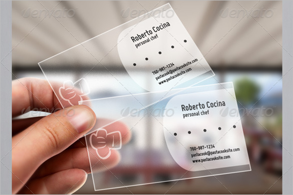 Restaurant Catering Business Card Template