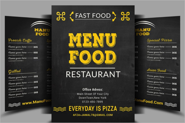 Restaurant menu designs free psd pdf vector templates