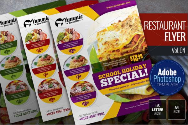 Restaurant Flyer Bundle Design