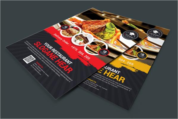 Restaurant Flyer Design Free Download