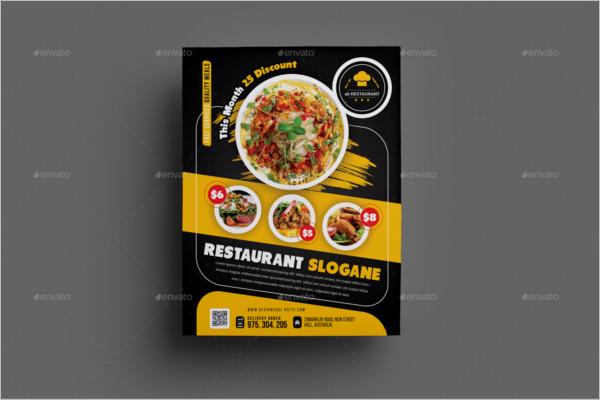 79+ Restaurant Flyer Designs Free PSD, Word Sample Templates