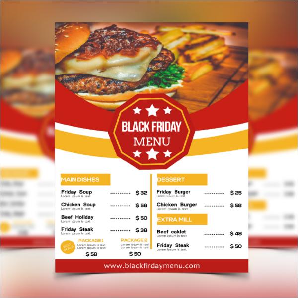 Restaurant Flyer Example