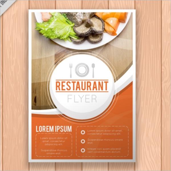 Restaurant Flyer Free Design