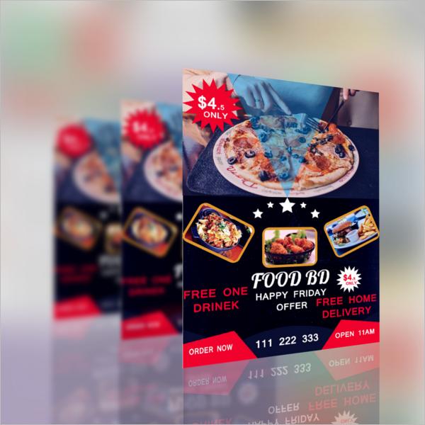 Restaurant Flyer PSD Free Download