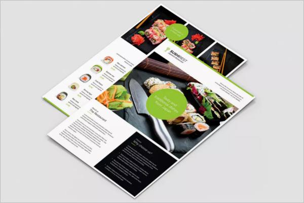 Restaurant Flyer Portrait