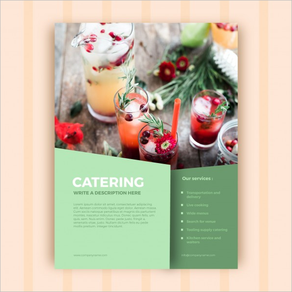 Restaurant Flyer Template PSD Free