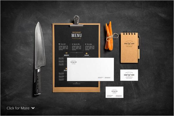 Restaurant Menu Design 2015