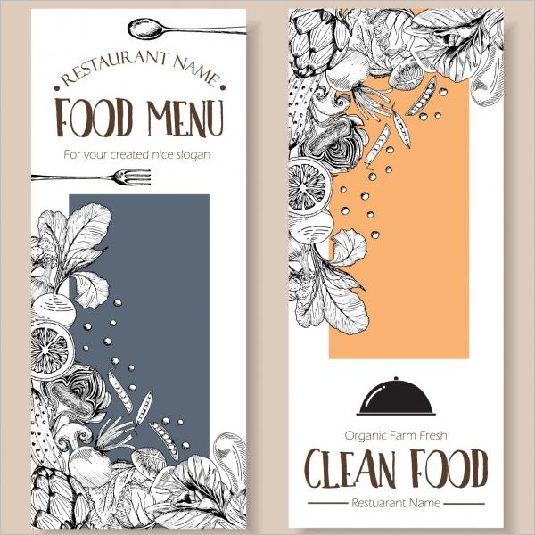 Restaurant Menu Design Free Download