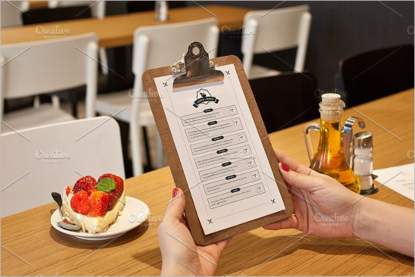Restaurant Menu Design Ideas