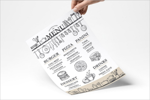Restaurant Menu Design PDF