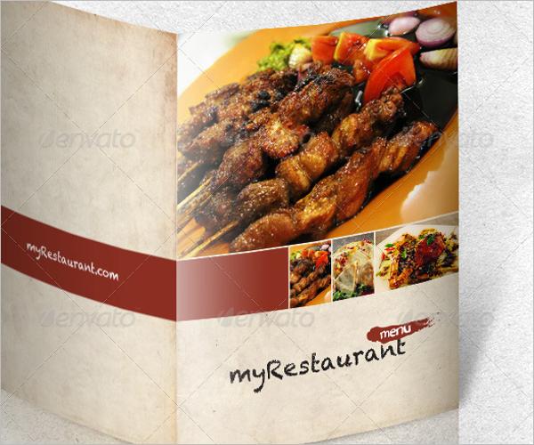 Restaurant Menu Indesign Template