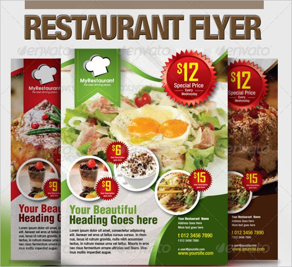 Restaurant Promotional Flyer Design