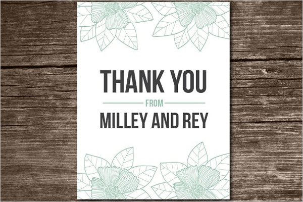 Restaurant Thank You Card Letter Template