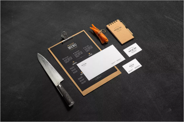 Restaurant Branding Mockup Design