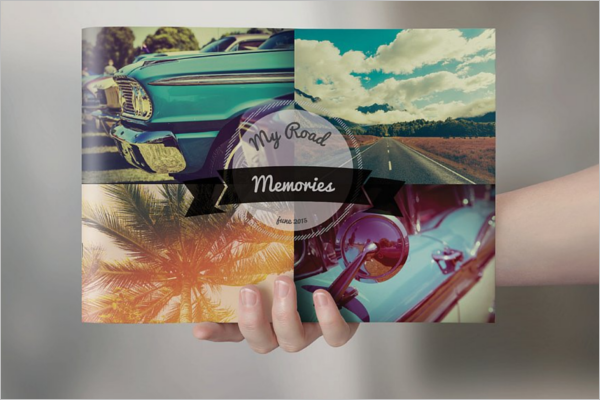 Retro Brochure Design Template