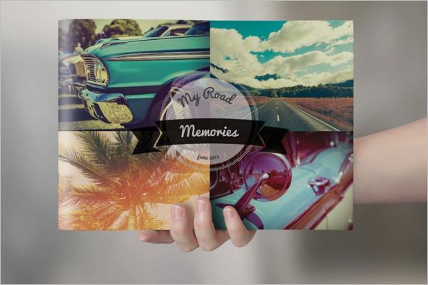 Retro Brochure Design Template