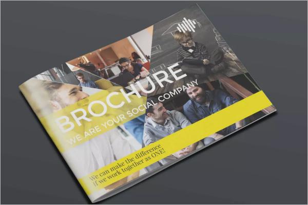Retro Brochure InDesign