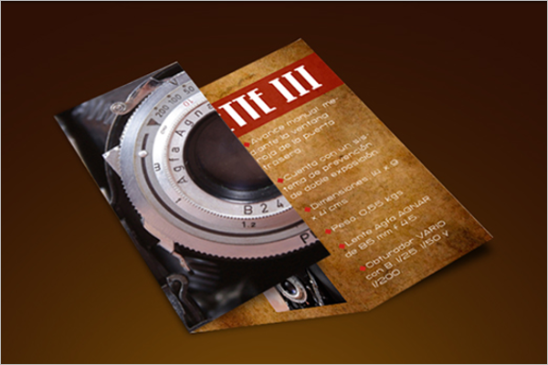 Retro Brochure Template Free Download