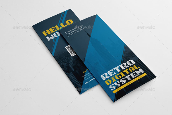 Retro Digital Design Brochure
