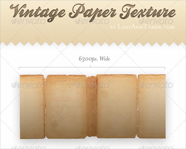 Retro Paper Texture Design